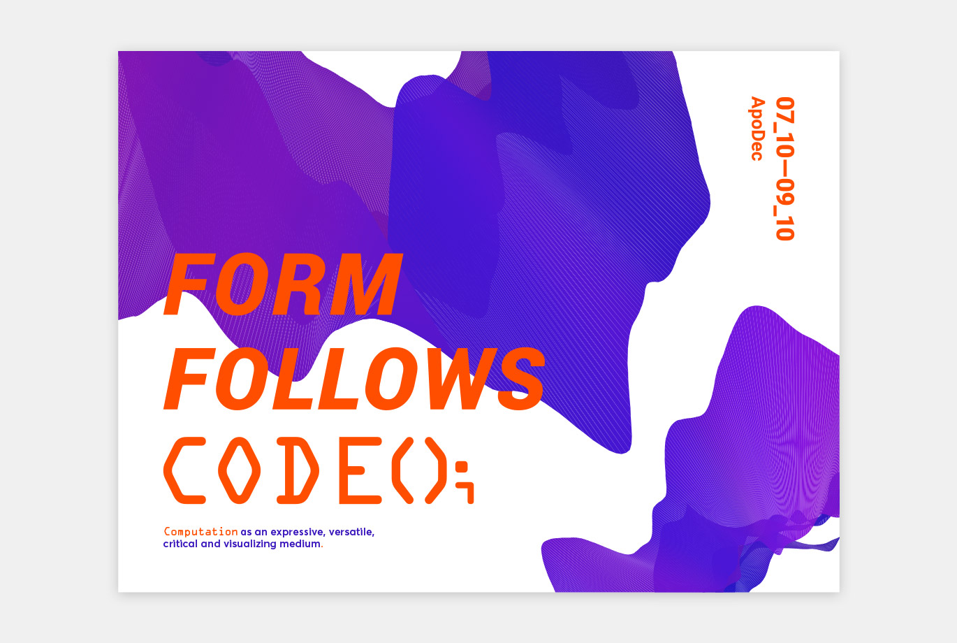Form Follows Code project image